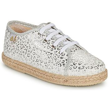 Chaussures Fille Baskets basses Citrouille et Compagnie OKOKI Argent