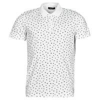 Vêtements Homme Polos manches courtes Jack & Jones JJMINIMAL Blanc