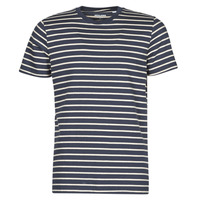 Vêtements Homme T-shirts manches courtes Jack & Jones JJESTRIPED Marine