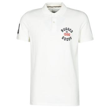 Vêtements Homme Polos manches courtes Jack & Jones JJAPPLICA Blanc