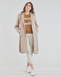 Vêtements Femme Manteaux Only ONLTRILLION Beige