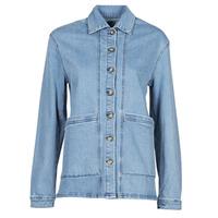Vêtements Femme Vestes en jean Betty London OVEST Bleu medium