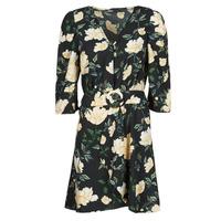 Vêtements Femme Robes courtes Only ONLEVE 3/4 SLEEVE SHORT DRESS WVN Noir
