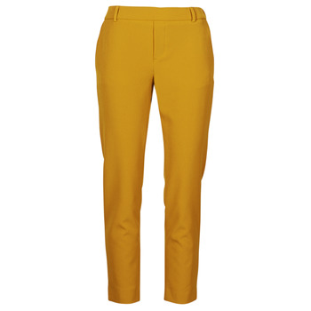 Vêtements Femme Chinos / Carrots Only ONLGLOWING Jaune