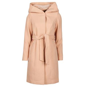 Vêtements Femme Manteaux Vero Moda VMCALALYON HOOD 3/4 JACKET GA Rose