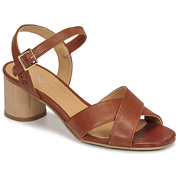 Chaussures Femme Sandales et Nu-pieds Dream in Green ODAINE Tan