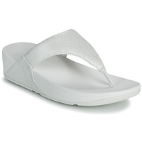 Chaussures Femme Tongs FitFlop LULU SHIMMER TOE POST Blanc