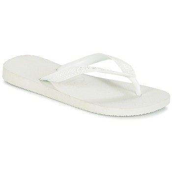 Chaussures Tongs Havaianas TOP Blanc