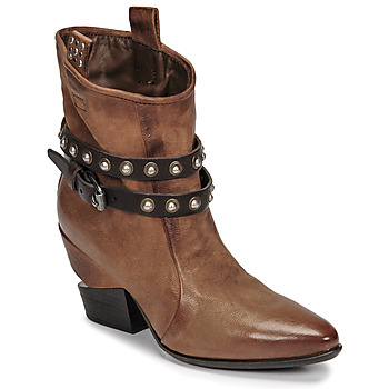 Chaussures Femme Boots Airstep / A.S.98 TINGET Marron