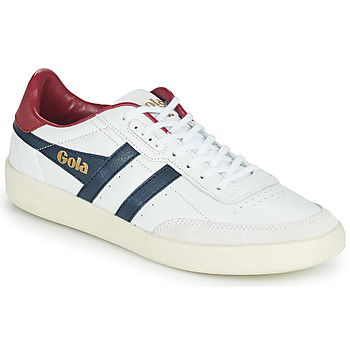 Chaussures Homme Baskets basses Gola INCA LEATHER Blanc / Bleu / Rouge
