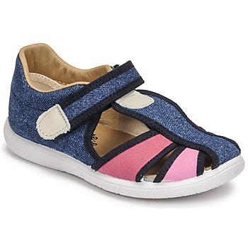 Chaussures Fille Sandales et Nu-pieds Citrouille et Compagnie GUNCAL Bleu jeans