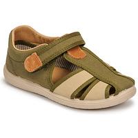 Chaussures Garçon Sandales et Nu-pieds Citrouille et Compagnie GUNCAL Kaki