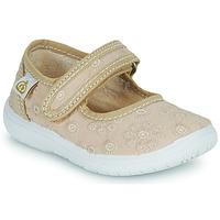 Chaussures Fille Ballerines / babies Citrouille et Compagnie OSAPA Beige