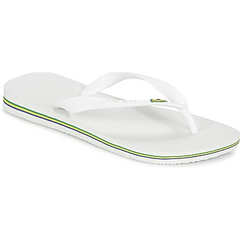 Chaussures Tongs Havaianas BRASIL White
