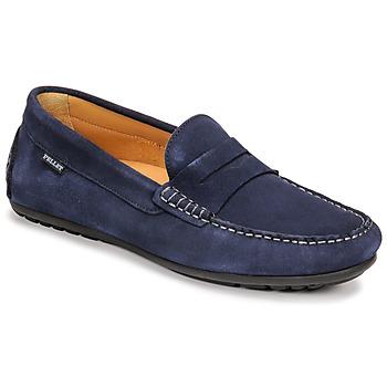 Chaussures Homme Mocassins Pellet CADOR Bleu