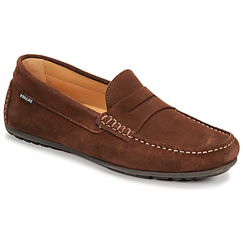 Chaussures Homme Mocassins Pellet CADOR Marron