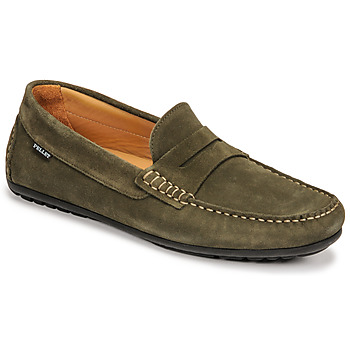 Chaussures Homme Mocassins Pellet CADOR Kaki