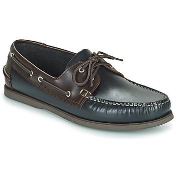 Chaussures Fille Ballerines / babies Christian Pellet VENDEE Bleu / Marron