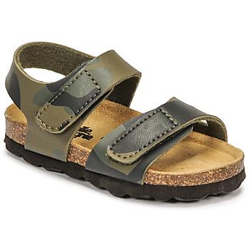 Chaussures Garçon Sandales et Nu-pieds Citrouille et Compagnie BELLI JOE Camouflage