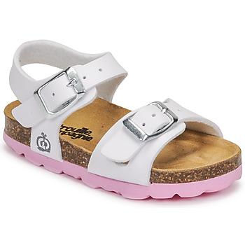 Chaussures Fille Sandales et Nu-pieds Citrouille et Compagnie RELUNE Blanc