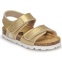 Chaussures Fille Sandales et Nu-pieds Citrouille et Compagnie BELLI JOE Doré