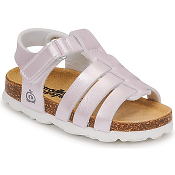 Chaussures Fille Sandales et Nu-pieds Citrouille et Compagnie MALIA Champagne
