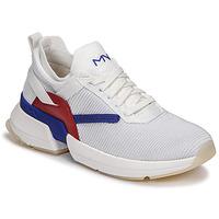 Chaussures Femme Baskets basses Skechers SPLIT/OVERPASS Blanc / Bleu / Rouge