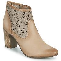 Chaussures Femme Bottines JB Martin DENTEL Beige