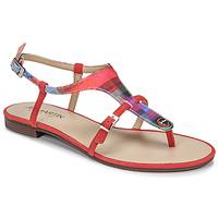 Chaussures Femme Sandales et Nu-pieds JB Martin GAELIA Rouge