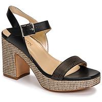 Chaussures Femme Sandales et Nu-pieds JB Martin XEPIA Noir