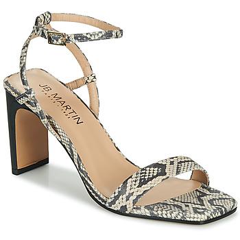 Chaussures Femme Sandales et Nu-pieds JB Martin DITA Noir