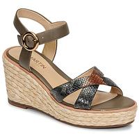 Chaussures Femme Sandales et Nu-pieds JB Martin EMEA Olive