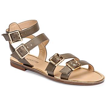 Chaussures Femme Sandales et Nu-pieds JB Martin GAPI Olive