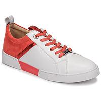 Chaussures Femme Baskets basses JB Martin GELATO Blanc/corail