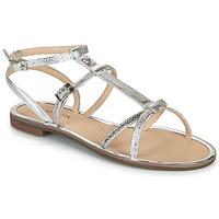 Chaussures Femme Sandales et Nu-pieds JB Martin GRIOTTES Argent