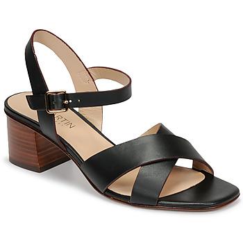 Chaussures Femme Sandales et Nu-pieds JB Martin OXIA Noir