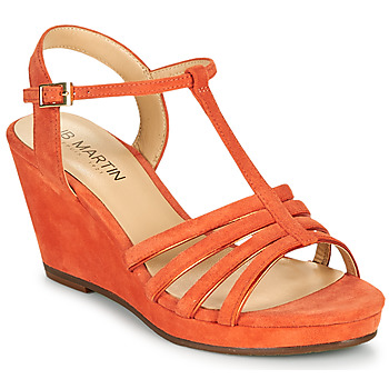 Chaussures Femme Sandales et Nu-pieds JB Martin QUIRA Papaye