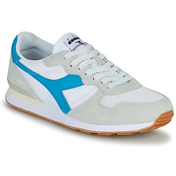 Chaussures Homme Baskets basses Diadora CAMARO Bleu / Blanc