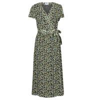Vêtements Femme Robes longues Betty London OMADAM Noir / Multicolore