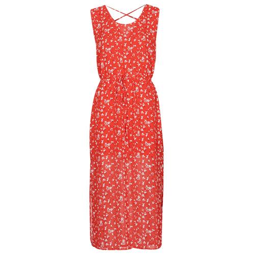 Vêtements Femme Robes longues Moony Mood OUPLA Rouge