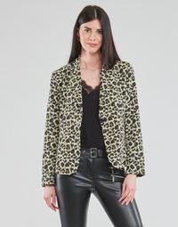 Vêtements Femme Vestes / Blazers Moony Mood OUPLA Marron