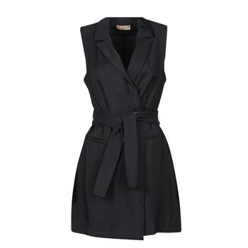 Vêtements Femme Robes courtes Moony Mood OLALA Noir