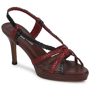 Chaussures Femme Sandales et Nu-pieds Stéphane Kelian PRISCILLE Marron / Bordeaux