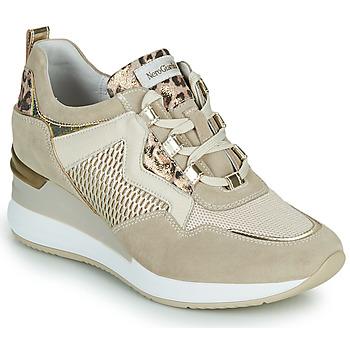 Chaussures Femme Baskets basses NeroGiardini DARKO Beige