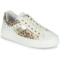 Chaussures Femme Baskets basses NeroGiardini MANO Blanc / Leopard
