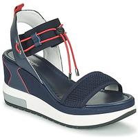 Chaussures Femme Sandales et Nu-pieds NeroGiardini CAMINO Marine / Rouge