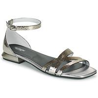 Chaussures Femme Sandales et Nu-pieds NeroGiardini TOMMA Argenté