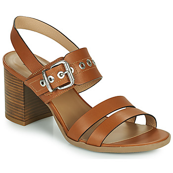 Chaussures Femme Sandales et Nu-pieds NeroGiardini GHILLO Cognac