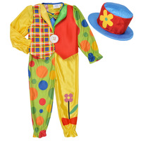 Vêtements Enfant Déguisements Fun Costumes COSTUME ENFANT COOKIE CLOWN Multicolore