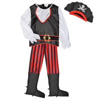 Vêtements Garçon Déguisements Fun Costumes COSTUME ENFANT PIRATE TOM Multicolore